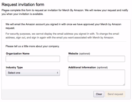 How To Get Accepted Selling on Merch By Amazon?