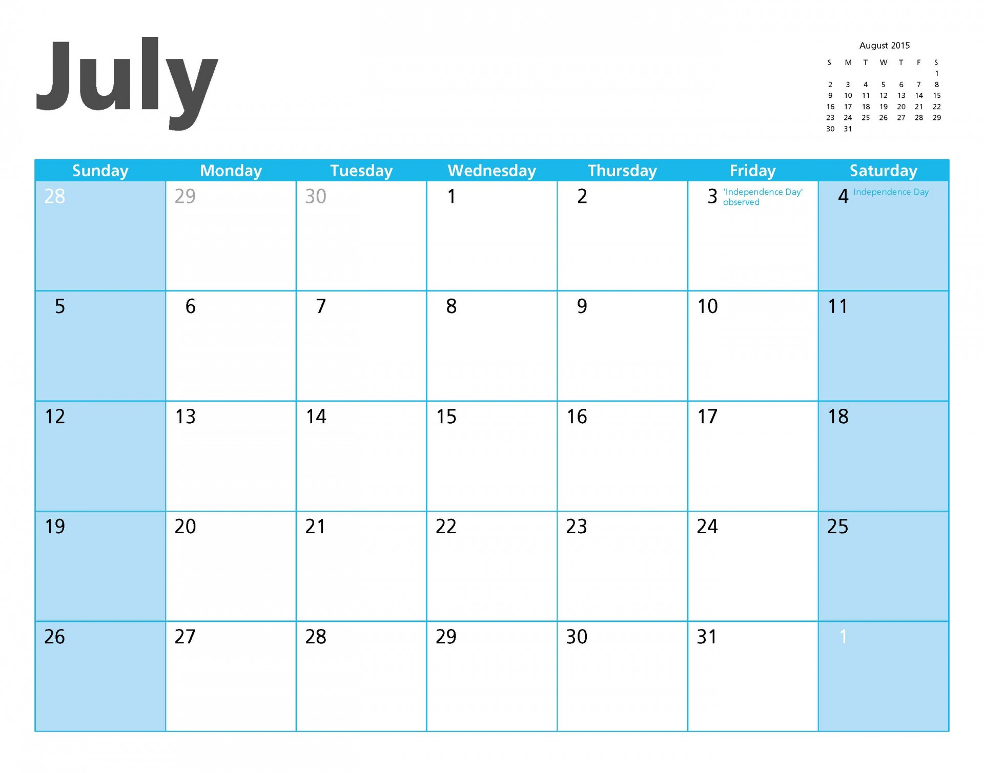 July Holidays & Niches For Business Ideas