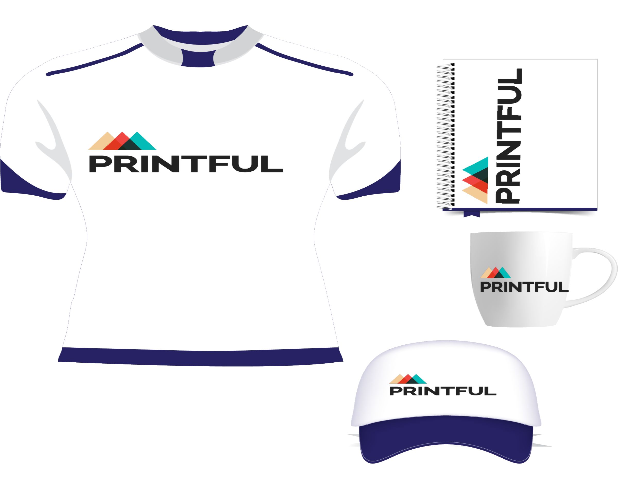 How to sell custom printed products with Printful