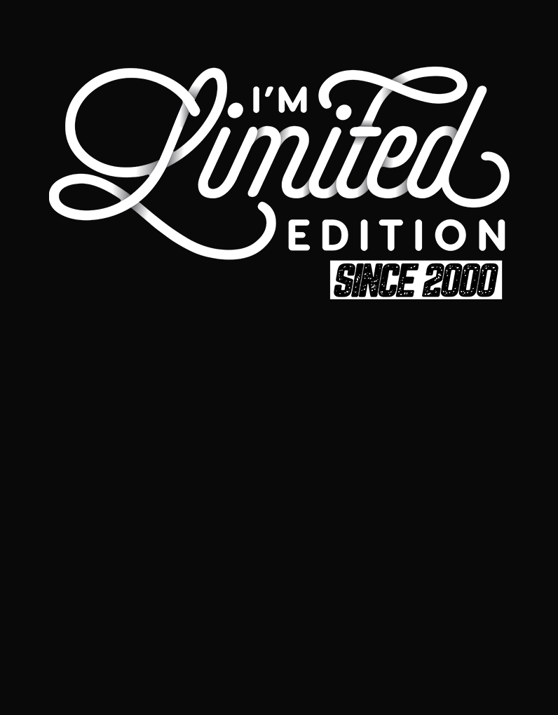 Limited Edition 2000 Design