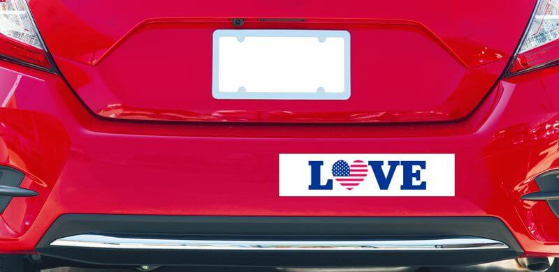 How to make your own car bumper stickers